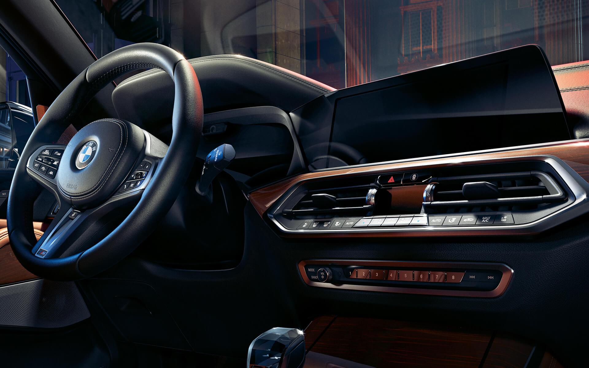 bmwx5_interior
